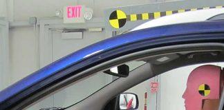 Prueba de impacto automotriz