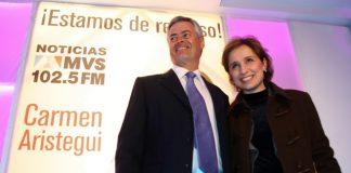 Joaquín Vargas decidión el regreso de la comunicadora a MVS