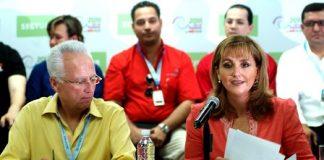 La titular de la Secretaría de Turismo, Gloria Guevara, anuncia un nuevo programa para impulsar el turismo interno