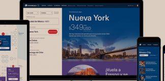 Aeroméxico estrategia en línea. Revista Fortuna