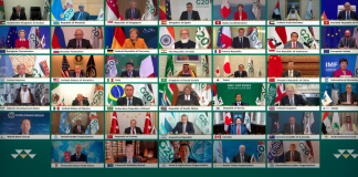 Plenaria virtual del G-20
