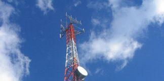 Radiobase de telefonía celular / Foto: Leonardo Pupiales