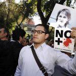 Manifestación en pro de Carmen Aristegui / Foto: Julio C. Hernández - Contralínea