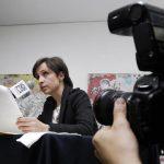 Conferencia de prensa de Carmen Aristegui / Foto: Julio C. Hernández - Contralínea