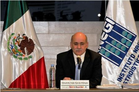 Eduardo Sojo, presidente del Inegi / Foto: Rubén Dario
