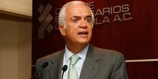 Pedro Aspe, ex titular de la Secretaría de Hacienda y presidente de Protego