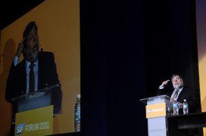 Steve Wozniak en el SAP Forum 2011 México