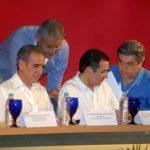 Enrique Zorilla, Luis Robles, Ernesto Arroyo, Ignacio Deschamps
