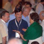 Guillermo Ortiz, Roberto González y María de los Ángeles Moreno