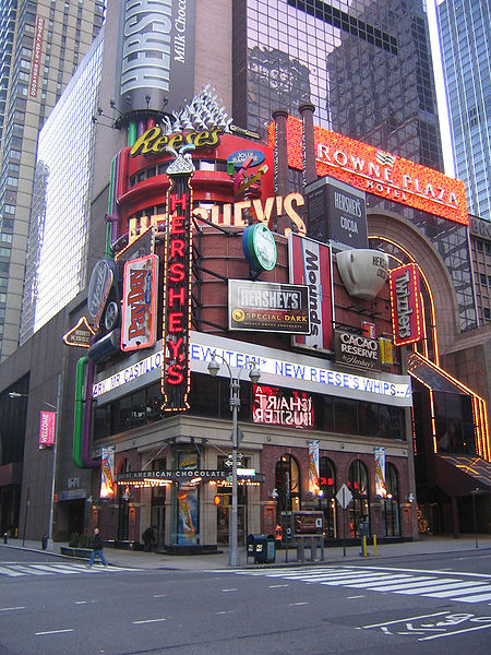 Tienda Hershey's en Times Square, NY / Foto: Juanma312008