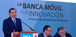 Presentación de la banca móvil y la innovación