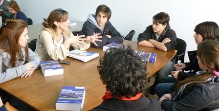 Estudiantes argentinos UBA