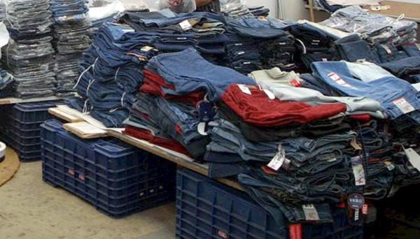 Decomiso ropa