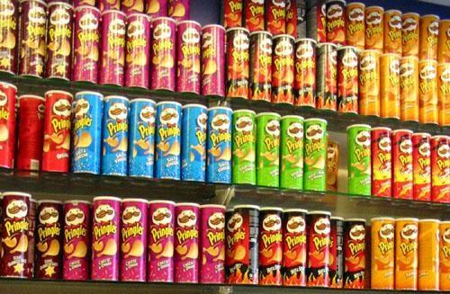 Pringles botanas