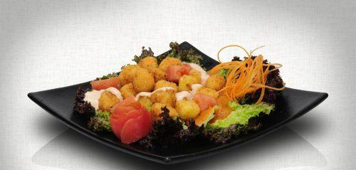 Ensalada de la casa Mr Sushi