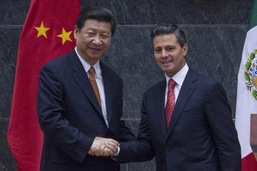Presidentes China Mexico