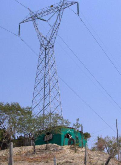 Torre electricidad Chilpancingo