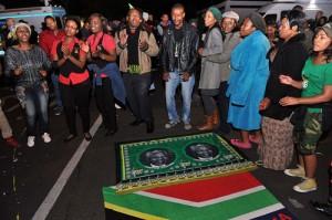 Vigilia Muerte Mandela