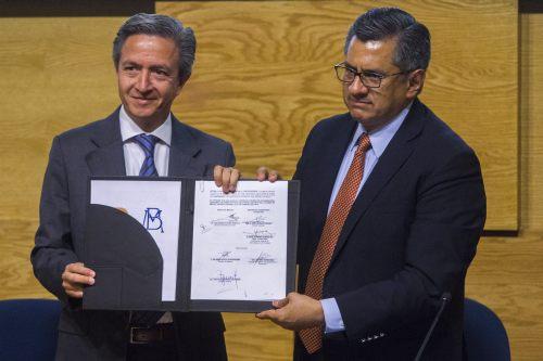 Convenio Banco de Mexico y Metro