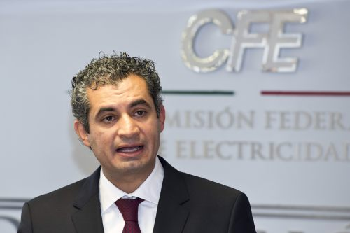 Enrique Ochoa Reza  director CFE