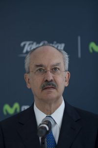 CO Francisco Gil Diaz, presidente de Telefonica Mexico