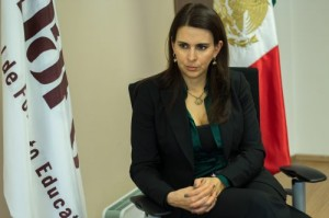 Carolina Viggiano Austria, directora del Consejo Nacional de Fomento Educativo (Conafe)