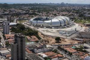 Estadio Arena Dunas de Natal Brasil