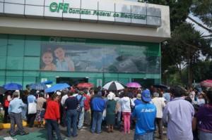 Protesta CFE