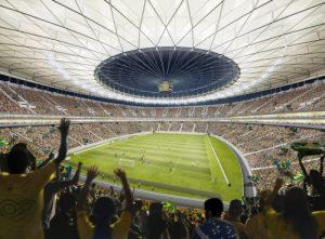 Stadion Mane Brasilien