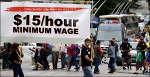 Seattle trabajadores salario minimo