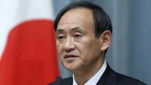 Yoshihide Suga secretario jefe del Gabinete de Japon
