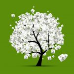 12397295 - money tree concept with dollar signs for your design