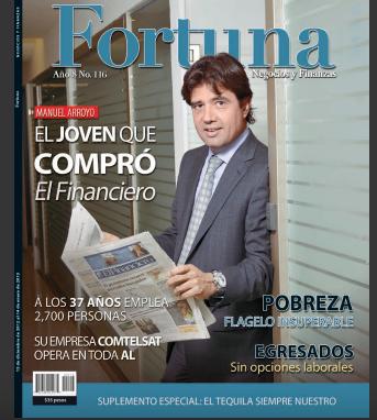 Portada El Financiero