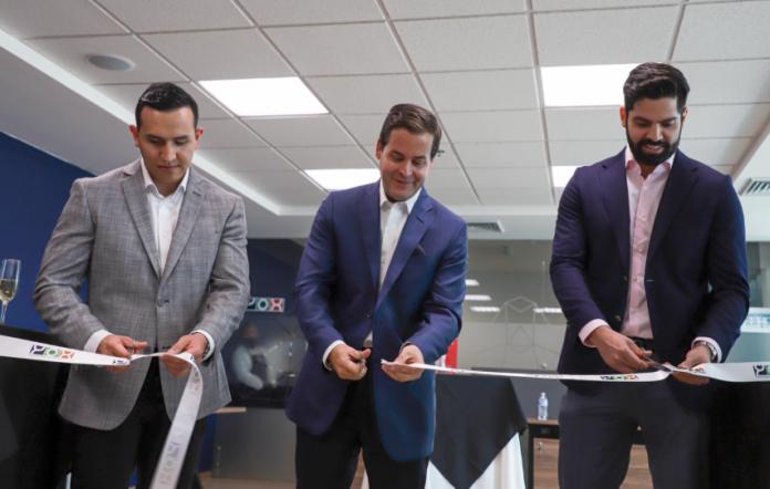 Carlos Lazo, presidente de YOX inaugura las oficinas del grupo en Querétaro